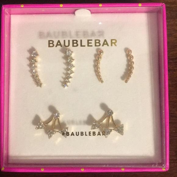 1987b6dae BaubleBar Jewelry | Brand New Bauble Bar Earring Pack Of 3 | Poshmark